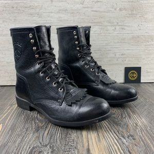 Ariat | Combat Boots | Leather